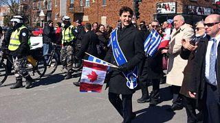 Παρών ο Τζάστιν Τριντό στον εορτασμό της Εθνικής Επετείου