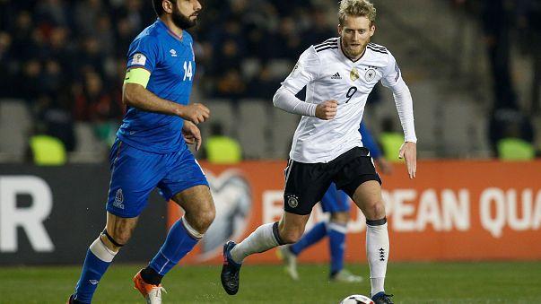 پیروزی بزرگان اروپا در بازیهای مقدماتی جام جهانی