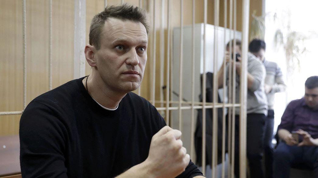 Alexei Navalny condannato a 15 giorni di carcere