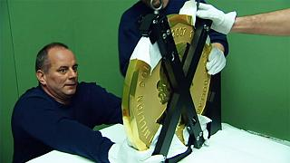 100kg gold coin stolen from Berlin museum
