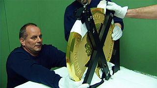 Unos desconocidos roban en Berlín la mayor moneda de oro del mundo
