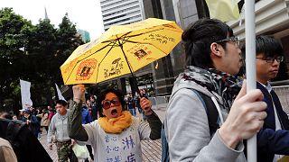 """Hong Kong: líderes da """"Revolução dos Guarda-Chuvas"""" vão ser julgados"""