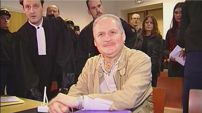"""La fiscalía pide cadena perpetua para Carlos """"El Chacal"""" por un atentado en París en 1974"""