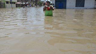 Наводнения в Перу: затоплен город Пиуре