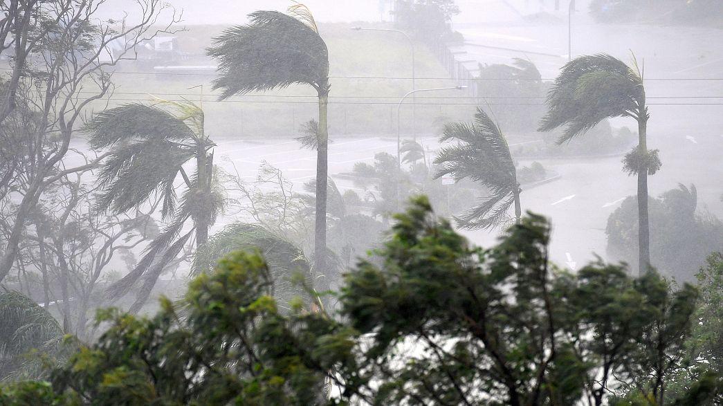 Debbie, a ciklon lecsapott Ausztráliára