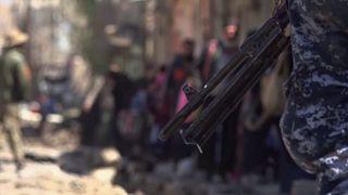 Mossoul : civils bombardés à Mossoul