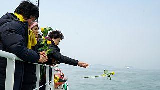 كوريا الجنوبية: انتشال عبارة غرقت قبل ثلاث سنوات