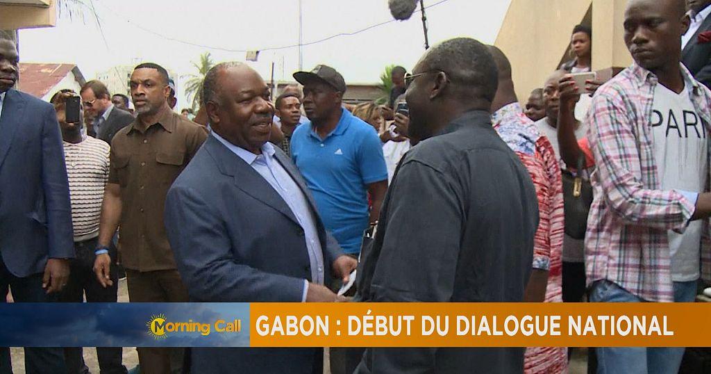 gabon reprise du dialogue national  the morning call  africanews