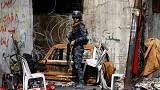 La fuerzas gubernamentales iraquíes buscan células durmientes