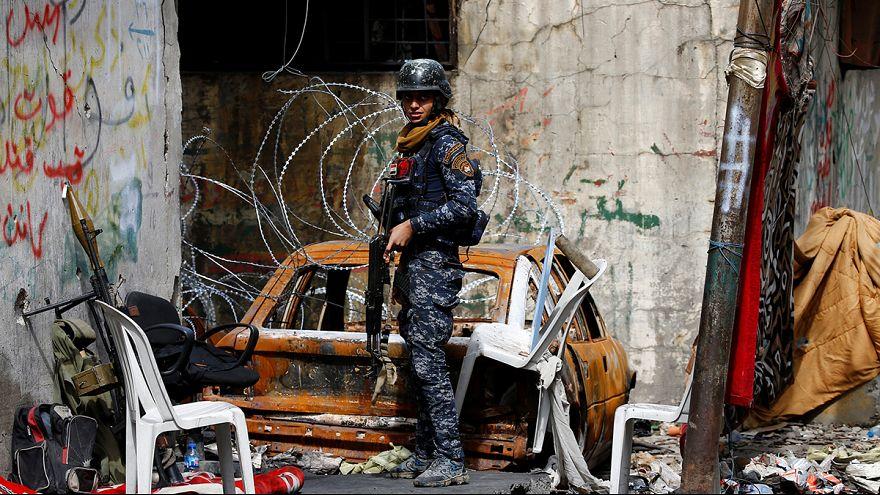 Жители восточного Мосула по-прежнему боятся за свою жизнь