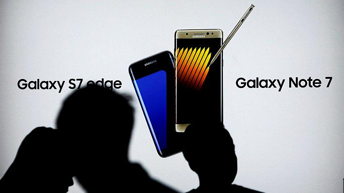 Samsung реанімує вибухову модель Galaxy Note 7