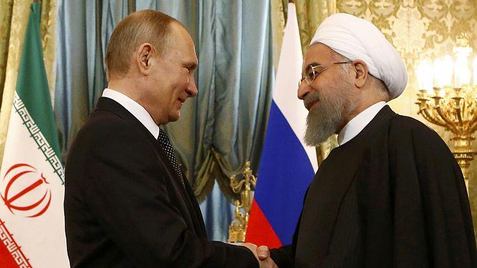 Russland und Iran feiern gute Zusammenarbeit