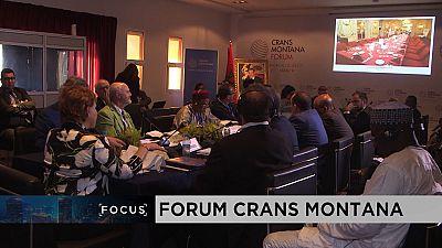 Crans Montana Forum focuses on Africa's development cooperation