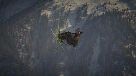 Τρομερό άλμα στο σκι από τον απίθανο Άντρι Ράγκετλι