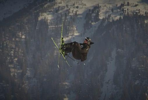 Leap of faith: Ragettli's historic jump