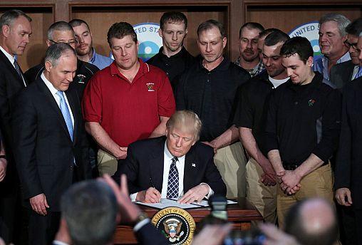 Νέο διάταγμα Τραμπ καταργεί τις πολιτικές Ομπάμα για το κλίμα