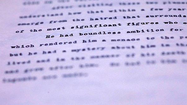 دفتر يوميات رحلة أوروبية للصحفي جون كينيدي في المزاد العلني