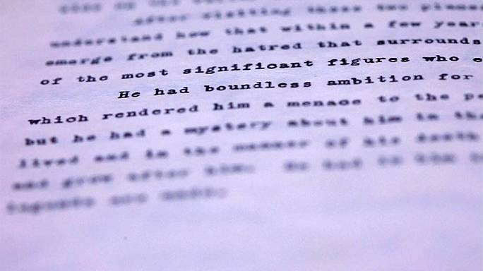 """JFK calls Hitler """"stuff of legends"""" in early diary"""