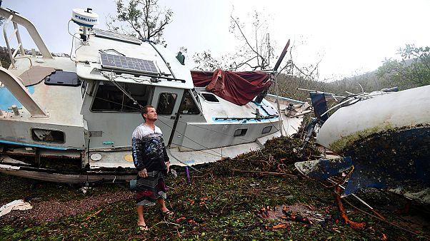Downgraded 'Debbie' storm brings risk of flooding