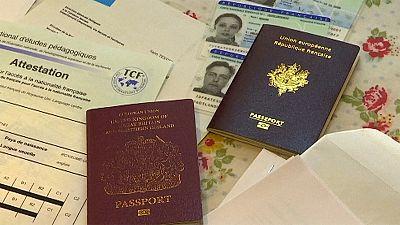 Le passeport français a la cote à South Kensington