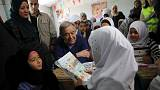 Guterres urges Syrian girls to continue their studies