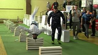 Bosnian taekwondo champion sets record for crushing blocks with his head