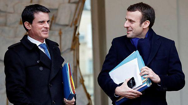 انتخابات فرانسه؛ والس بجای هم حزبی سوسیالیست از ماکرون حمایت کرد