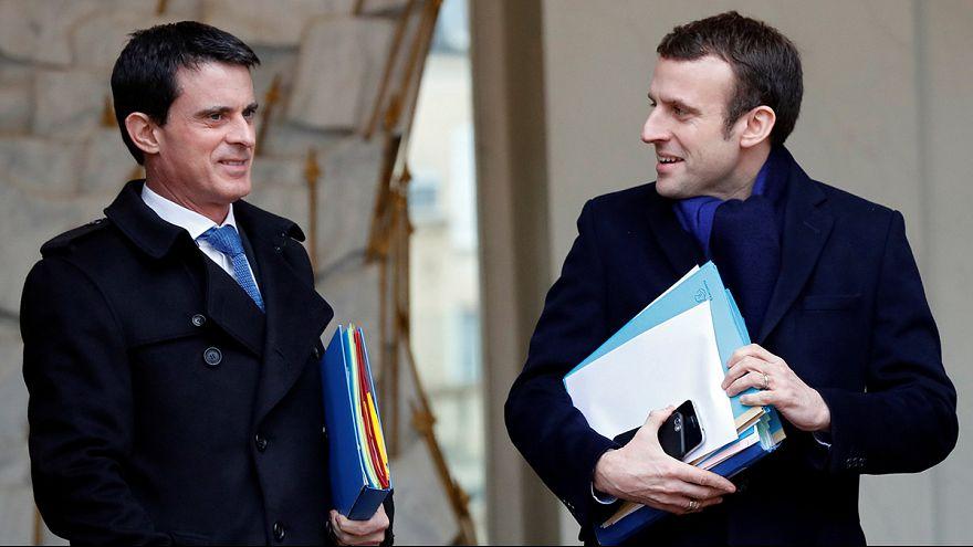 فرنسا: مانويل فالس يؤيد ماكرون ويبتعد عن هامون
