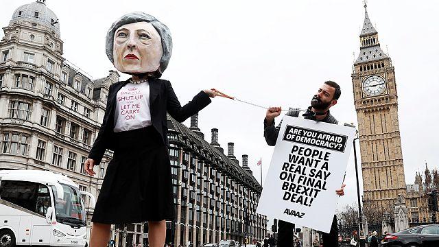 Жители Лондона рассуждают о брексите