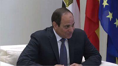 Le président égyptien reçu à la Maison Blanche — Etats-Unis