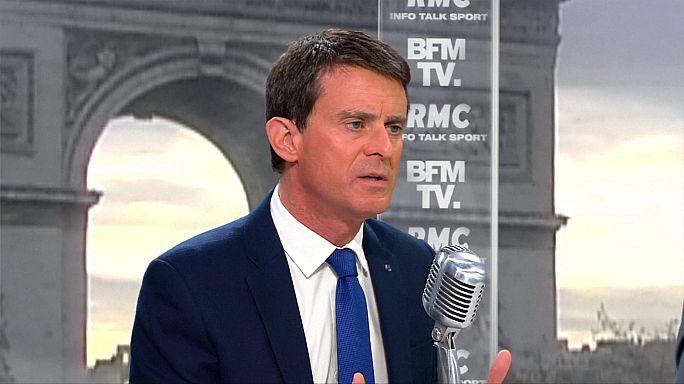 El socialista Benoît Hamon, al timón de un partido que hace aguas