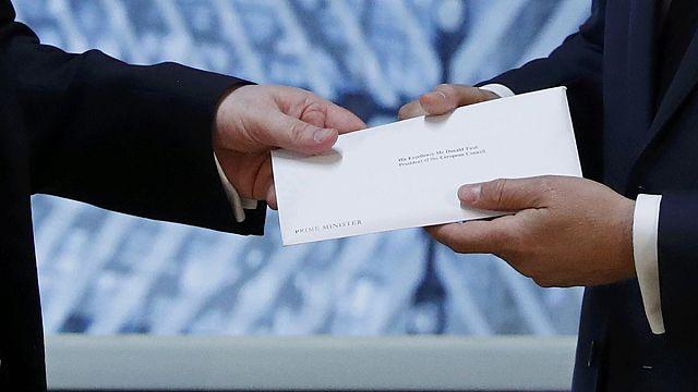 В Евросовет поступило письмо о выходе из ЕС Великобритании