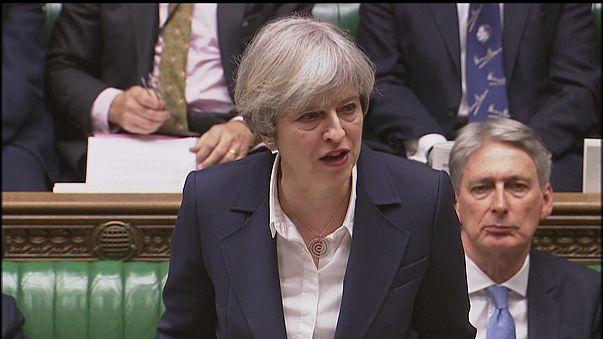 """Brexit : Theresa May pour un """"partenariat spécial"""" avec l'UE"""