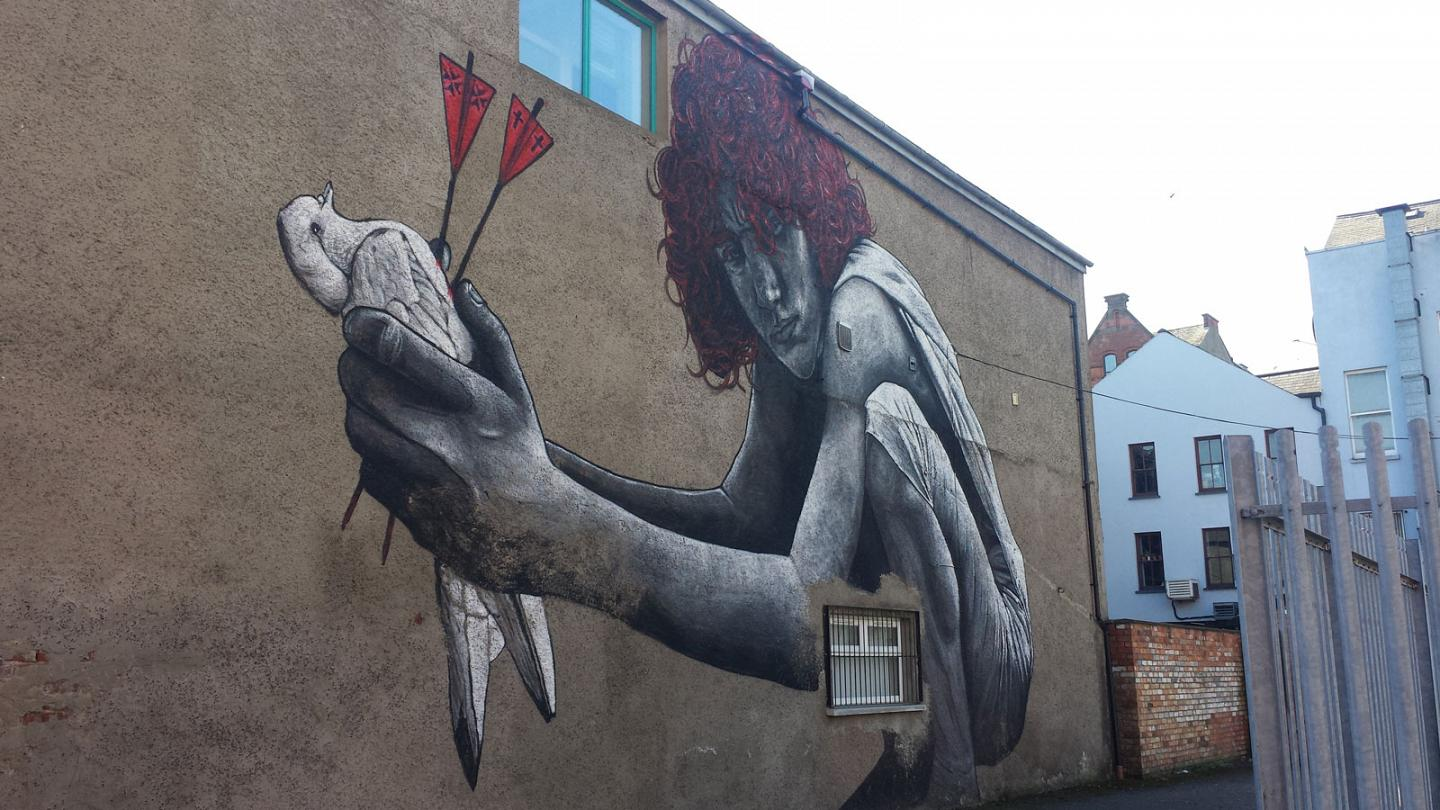 The changing faces of northern irelands murals