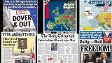 برکسیت؛ تیتر اول روزنامه های اروپا