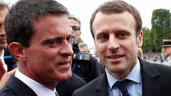 France's former PM Valls backs Macron for president