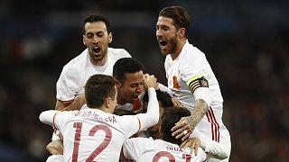 استمرار الجدل حول تقنية الفيديو بعد فوز المنتخب الإسباني على نطيره الفرنسي