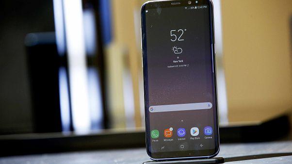 Galaxy S8, New York'ta dünyaya tanıtıldı