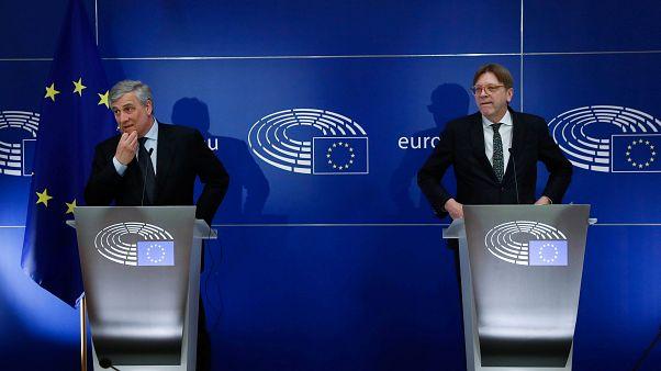 Réactions du Parlement européen après le lancement du Brexit
