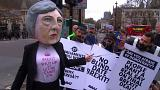 No blind Brexit, say protestors
