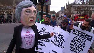"""""""Brexit – csak ésszel"""", kérik a tüntetők"""