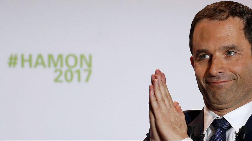Socialist Benoit Hamon appeals to the left