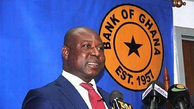 Ghana : le gouverneur de la Banque centrale démissionne