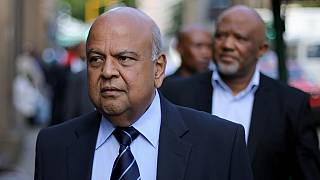 South Africans stand against Zuma's plan to sack finance minister