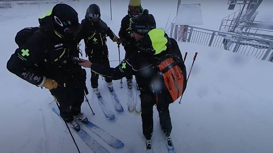 360°: How avalanches are triggered to keep skiers safe
