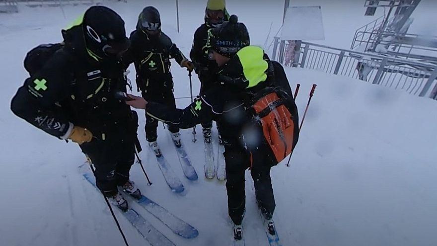 360°: борьба с лавинами во французских Альпах