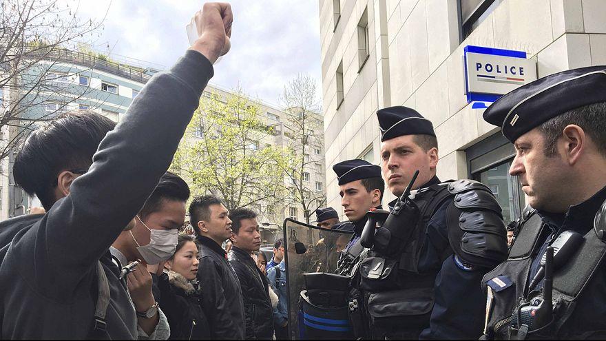 فرنسا: استمرار التوتر بين الشرطة والجالية الصينية