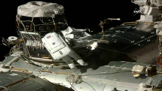 Amerikalı kadın astronot kez rekor kırdı