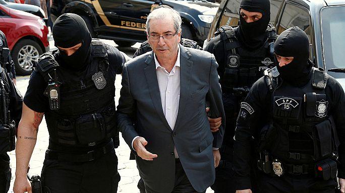 البرازيل: 15 سنة سجن لرئيس مجلس النواب السابق في قضية فساد