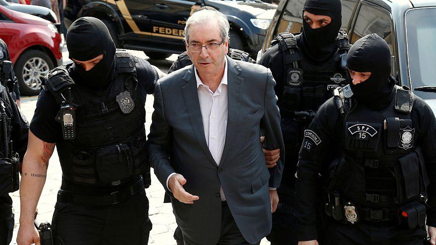 Brezilya'da eski Temsilciler Meclis Başkanı Cunha'ya hapis cezası
